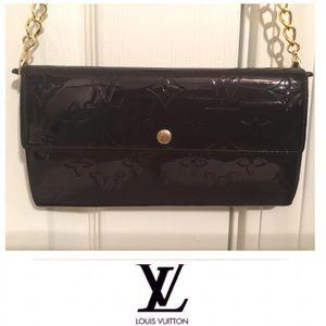Louis Vuitton Sarah Vintage Wallet & Crossbody